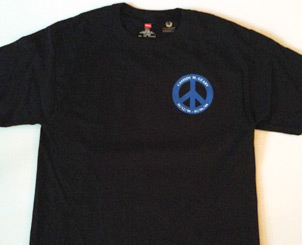 Men`s BlackT-Shirt Front View